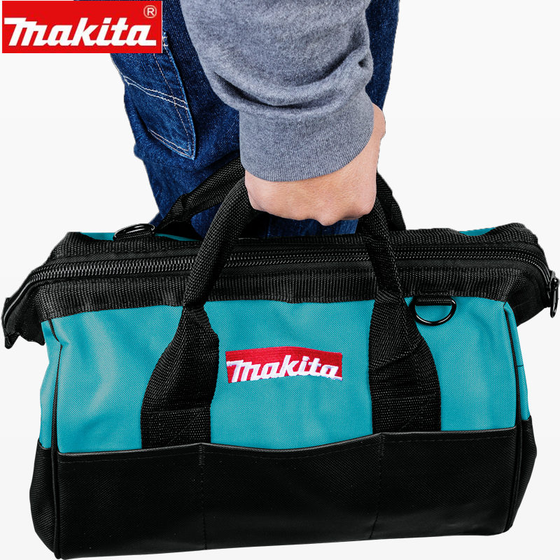 Makita 831368-1 Durable  355mm 14-inch Heavy Duty Contractor Tool Bag  For Drills-Drivers