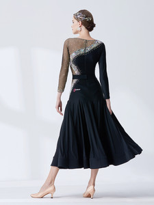 Image 2 - Ropa para danza moderna, estándar nacional, péndulo grande, ropa de práctica, Waltz M19136 de baile de salón