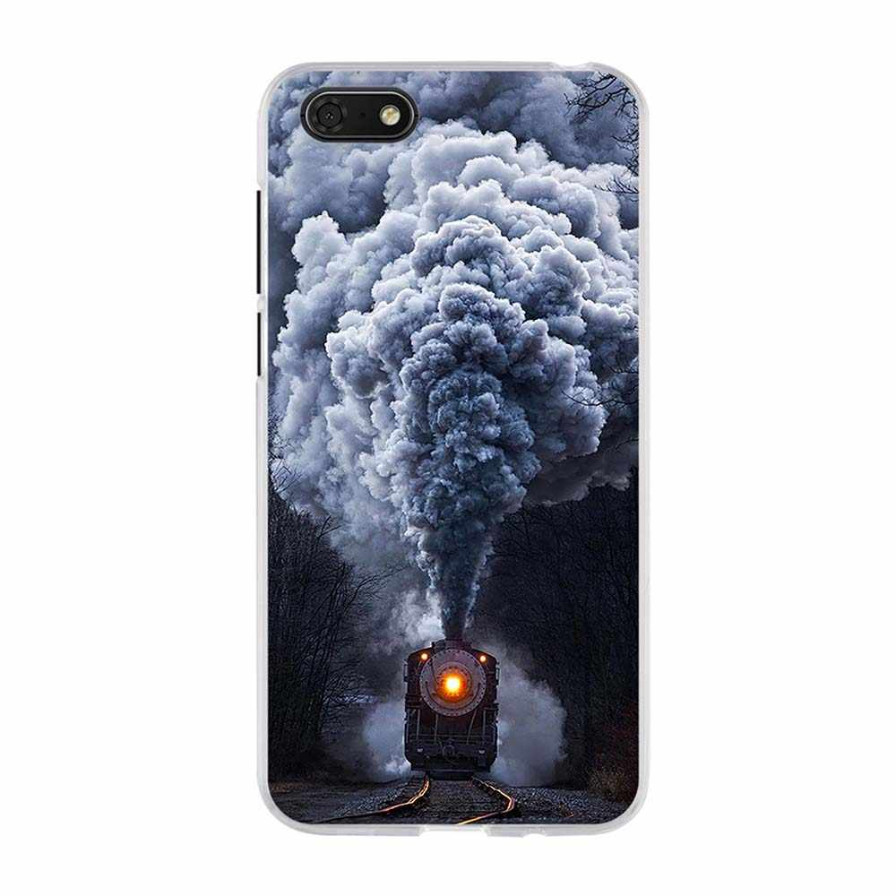 """Silikon kılıf Huawei onur için 7A kılıf 5.45 """"yumuşak TPU telefon kılıfları Huawei onur üzerinde 7A 7 bir DUA-L22 rus arka kapak Coque tampon"""