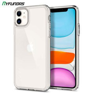 Heavy Duty Hybrid Case For iPhone 11 Pro Max XS X XR 7 8 Plus Protective Transparent Shockproof Clear Silicone Cover Accessories