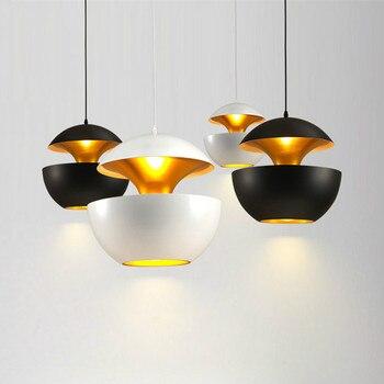 Nordic minimalist LED chandelier lighting restaurant aluminum alloy chandelier restaurant chandelier decoration
