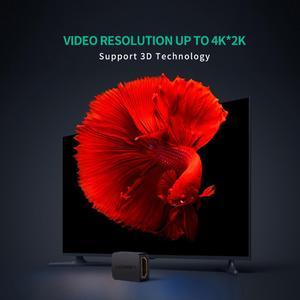 UGREEN HDMI муфта 4K HDMI адаптер Женский HDMI разъем 3D 4K 1080P HDMI удлинитель для Nintendo Switch HDMI кабель