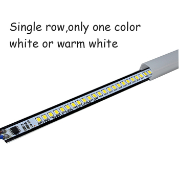 43 Cm/15.7in Bajo El Gabinete Luz Nocturna 220 V/110 V AC Cable De Enchufe LED Tira De Luz Estudio Luces De Escritorio Para Cocina Escritorio Iluminación De Pared