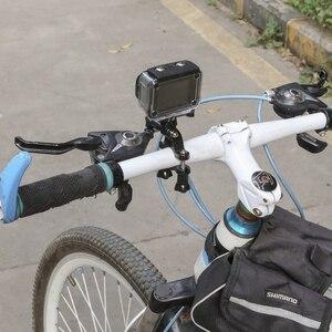 Image 5 - SHOOT 3 Way Pivot Arm Bicycle Clamp Handlebar Seatpost Pole Holder Mount for GoPro 9 8 7 6 5 Xiaomi Yi 4k Sjcam Eken Accessories