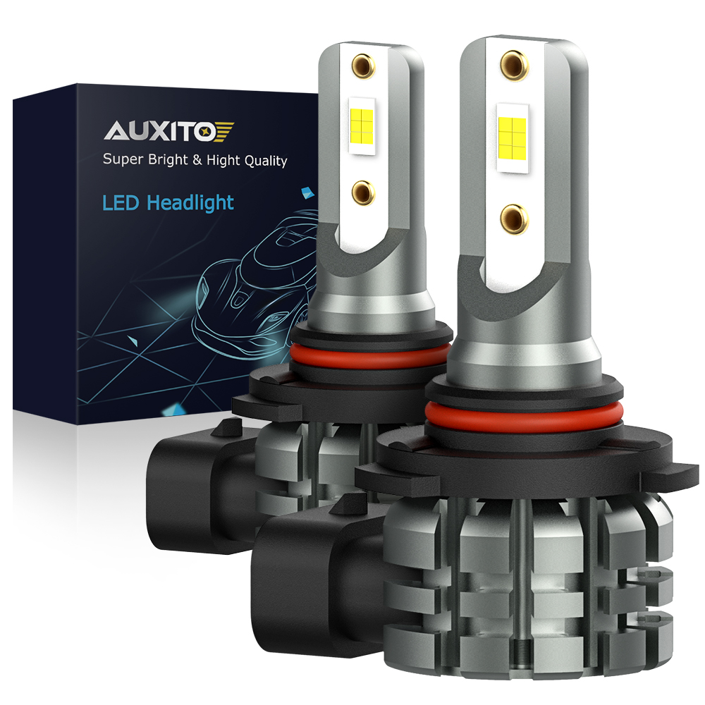 AUXITO 2Pcs H8 H11 H16 LED Bulbs H10 9145 9140 LED Fog Light Bulb 6000k White 3000k Golden Yellow DRL Car Driving Running Lamp