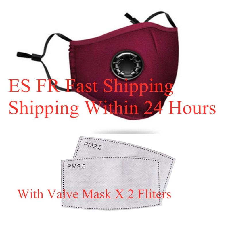 Face Mask Half Face Mask Reusable Mask Winter Warm Outdoor Mask Bicycle Cycling Mask Respirator + 2 Filters Ffp 3 RS2 KF95 Mask
