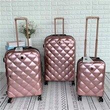 "Travel tale 2"" 25"" 2"" дюймовый чемодан 3 предмета в комплекте Спиннер чемодан Комплект троллейбусов из путешествия коробки"