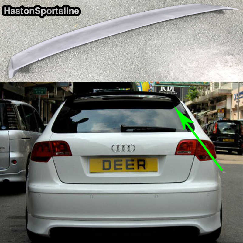 A3 8p Sportback Frp Unpainted Primer Roof Lip Spoiler Wing For Audi A3 Hatchback 2009 2012 Aliexpress