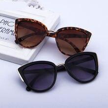 Gafas de sol de estilo Retro para mujer, lentes de sol con gradiente redondo de gran tamaño, gafas de sol con montura de Metal