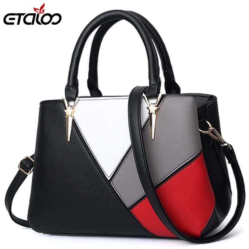 Women's Handbag Female Leather Shoulder Bag Luxury Handbags Women Bags Designer Women Bag Over Shoulder Sac A Main Ms Tote Bag
