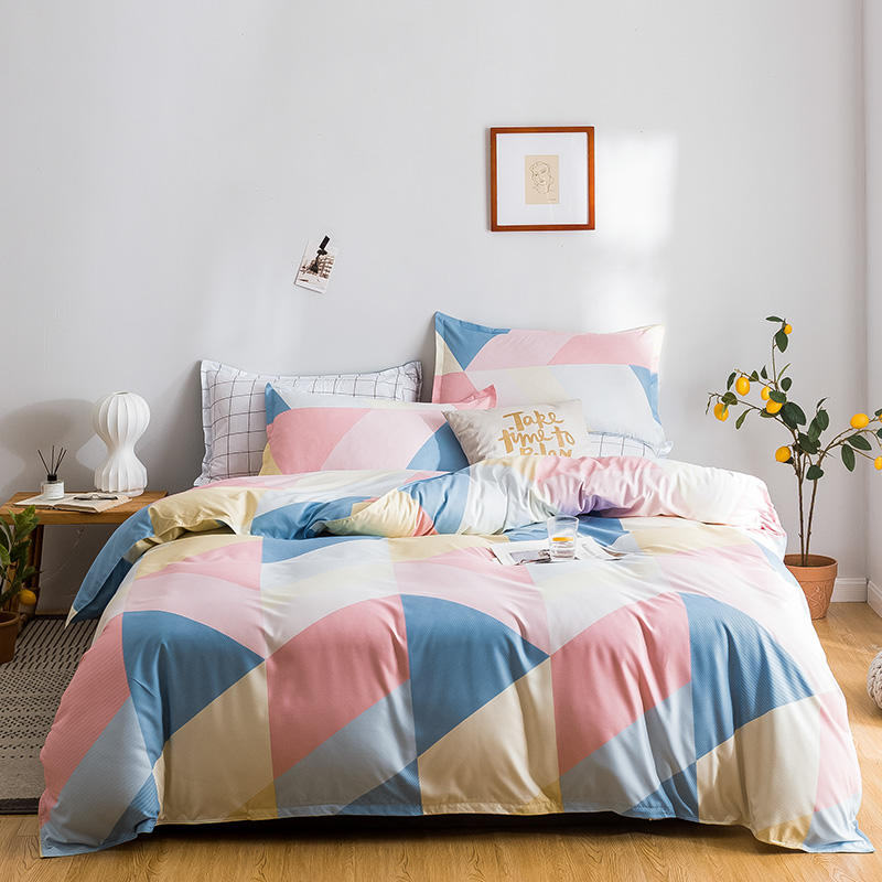 Duvet Quilt Cover Bedding Set Bed Linen Pillow Sheet Double Super King Single SP