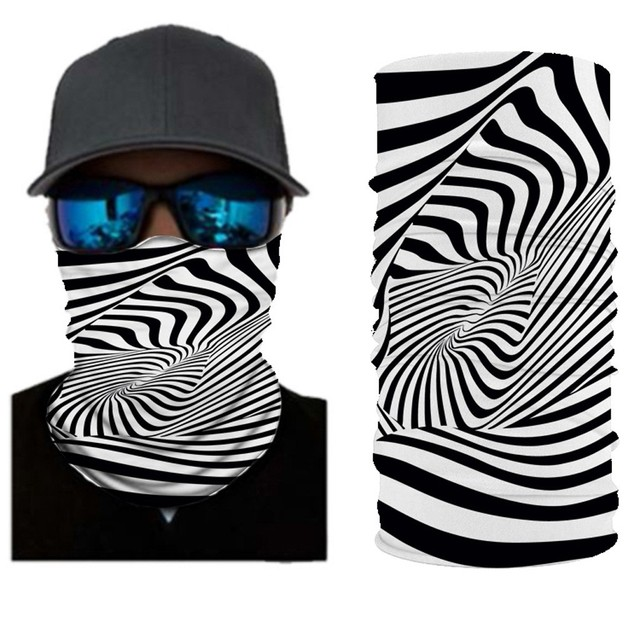 Mask Head Scarf Neck Cover With Safety Filter 5