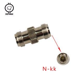 Image 2 - ZQTMAX 10PCS Variety models N KK N JJ N J5/J7 N 75 5/7 N Type Male Female Connector Coaxial Connectors Convert Adapter