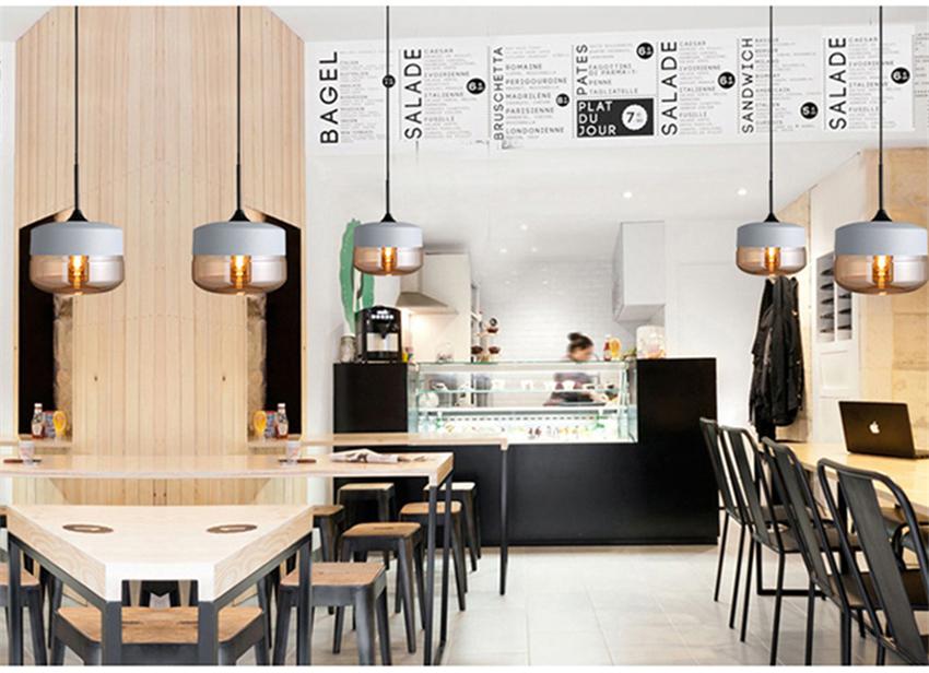 Hd7b31dfb047d4a8cbcc0f4f1ad8dec22o - Modern Home Decor Pendant Lights Nordic Clear Glass Lampshade Pendant Light Indoor Lighting Living Room Hanglamp Light Fixture