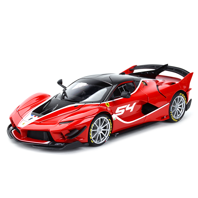 Bburago 1:18 FXX K EVO Refined Version Sports Car Static Simulation Diecast Alloy Model Car