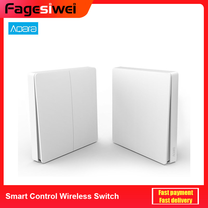 Original Aqara Wireless Remote Switch One Button Control ZiGBee Wifi Wireless Control APP Control For Home Device