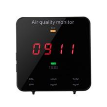 KF-906B Multifunctional Formaldehyde TVOC HCHO Detector Air Analyzer Carbon Dioxide CO2 Meter Gas Detector Air Quality Monitor