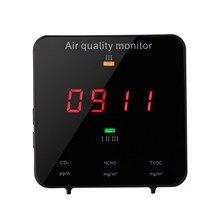 KF-906B Multifunktionale Formaldehyd TVOC HCHO Detektor Luft Analysator Kohlendioxid CO2 Meter Gas Detektor Luft Qualität Monitor