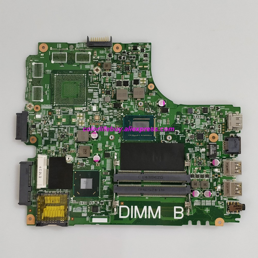 Genuine CN-0606R4 0606R4 606R4 12204-1 w <font><b>I5</b></font>-3337U CPU SLJ8E Laptop Motherboard for <font><b>Dell</b></font> Inspiron 14 <font><b>3421</b></font> 5421 Notebook PC image