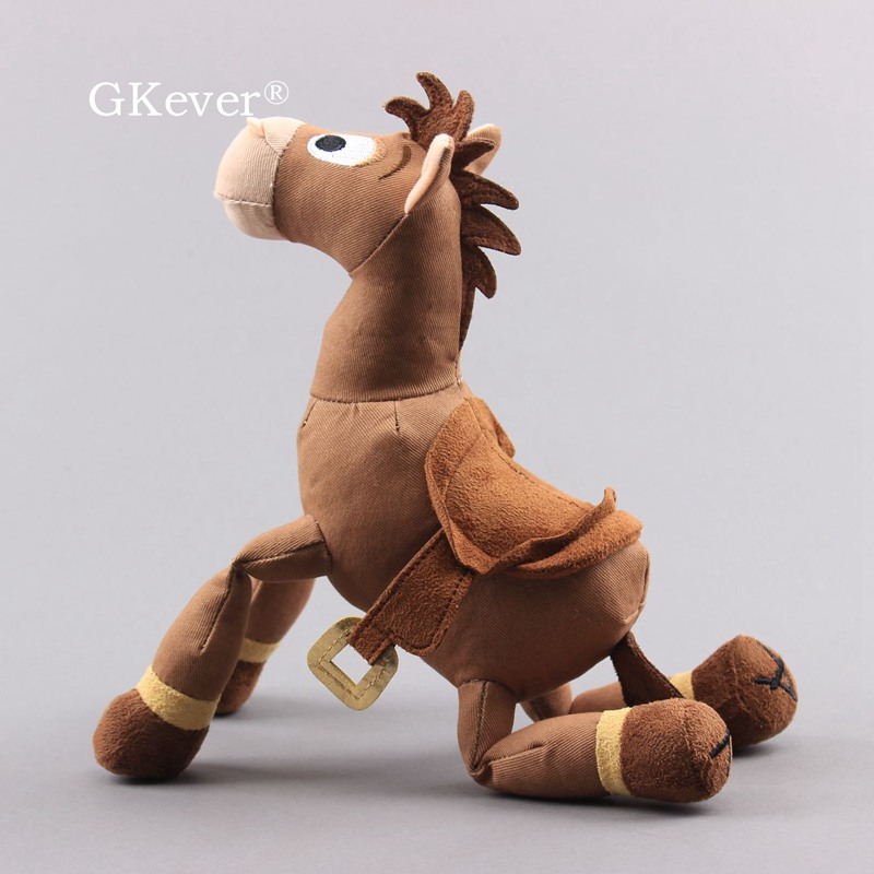 25cm historia bullseye cavalo boneca de pelucia 04