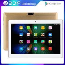 BDF – tablette Pc de 10.1 pouces avec écran IPS 2,5d, 1 go de ram, 32 go de rom, Android 7.0, double 3G, fonction d'appel téléphonique, WiFi, marque CE, pour enfants