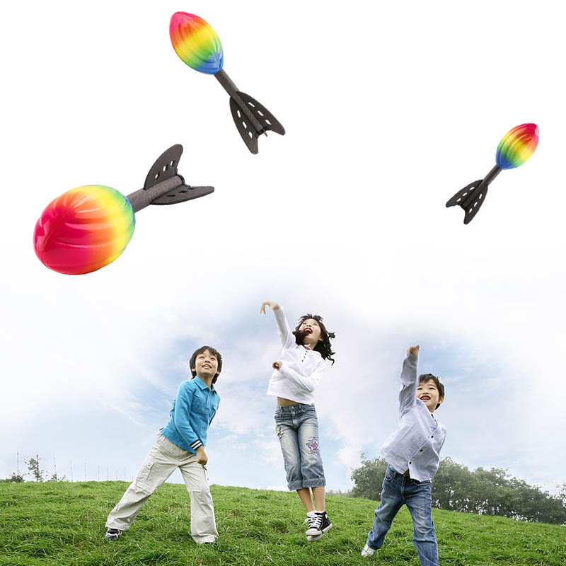 Foam Hand Throwing Rocket Toys Parent-child Outdoor Game Toy For Children AN88