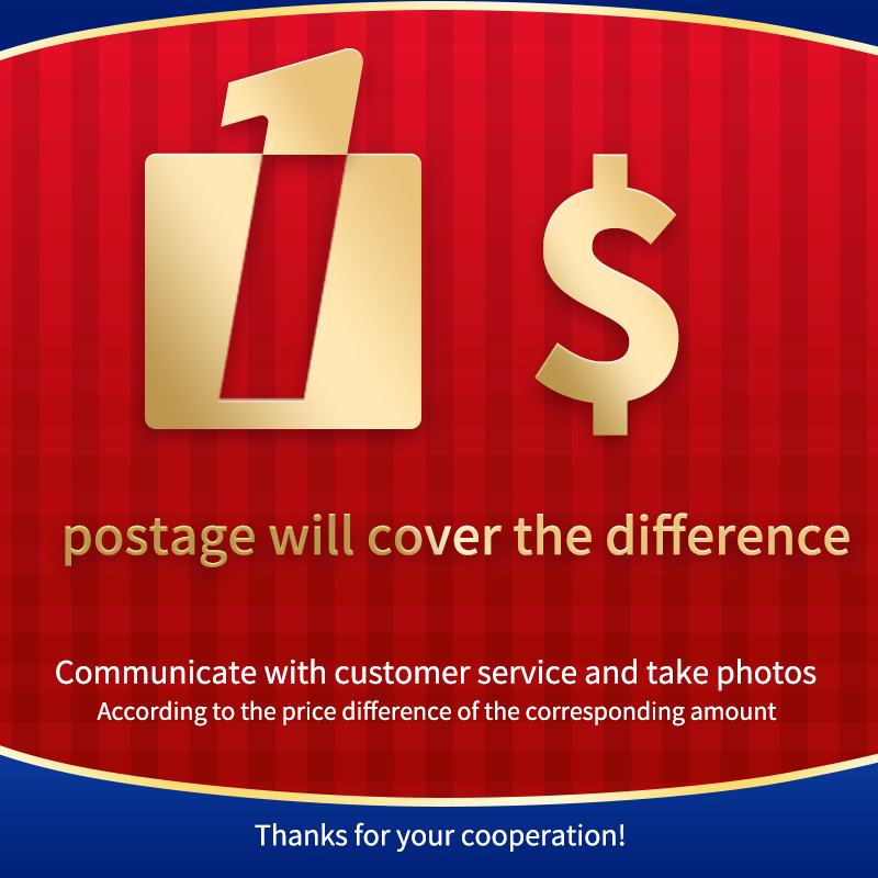 Postage Will Cover The Difference