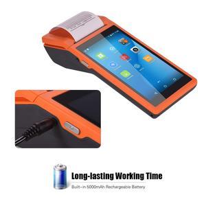 Image 3 - נייד כף יד PDA אנדרואיד קופה מסוף Terminales 3G אלחוטי Wifi Bluetooth מחשב כף יד עם 58mm מדפסת תרמית 5.5 מגע מסך