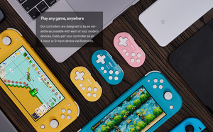 Image 4 - 8BitDo Bluetooth Wireless Gamepad Für Nintendo Schalter Lite PC macOS Stream Spiel Controller Farbe Null 2 Gamepads Joystick Joypad