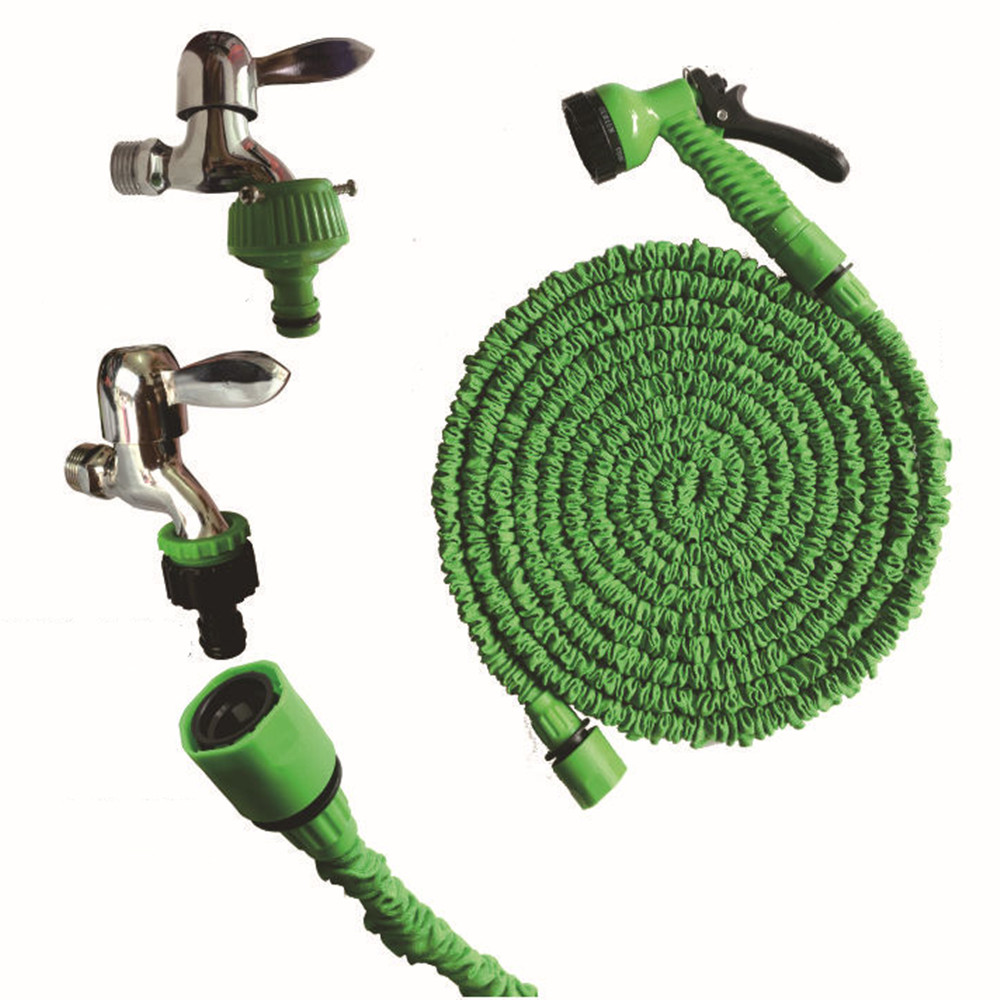 Telescopic Xpandable Magic Flexible Garden Water Hose For Car Hose Pipe Plastic Hoses Garden Set To Watering With Spray Gun