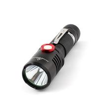 USB Charging Flashlights 1600LM 10W powerful flashlight 18650 battery waterproof outdoor camping hiking L2 high power flashlight цена