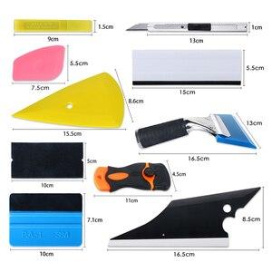 Image 5 - Kit de ferramentas para apertar filme de fibra de carbono, kit de instrumentos para cortar, envoltório magnético, faca, embalagem de janela, tinta automática, com 10 peças acessórios