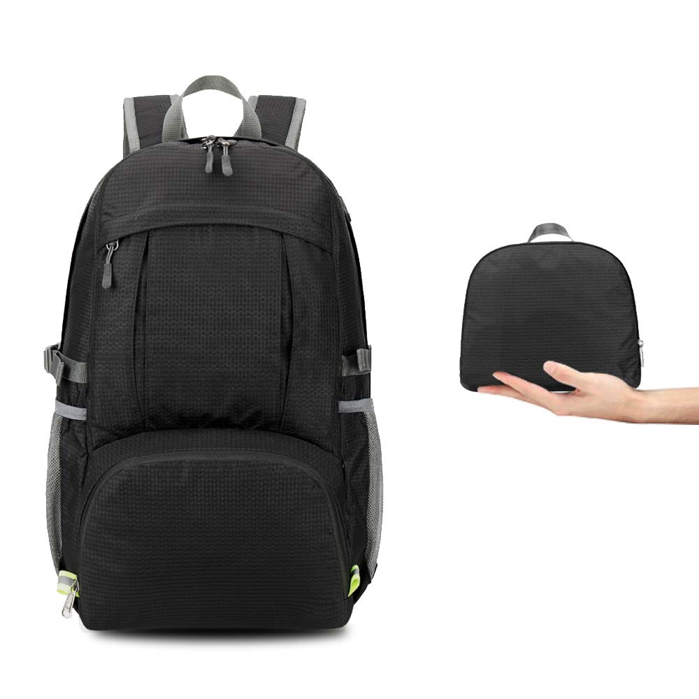 Outdoor Foldable Backpack 40L Portable Hiking Exercising Climbing Bag Waterproof Man Woman Sport Bag For Camping Hunting Running
