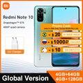 Globale Version Xiaomi Redmi Hinweis 10 4GB 64GB / 128GB Smartphone Snapdragon 678 6.43