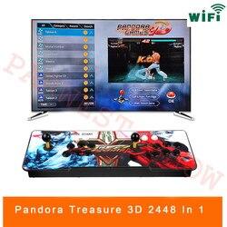 3D Pandora Spiel 2448 in 1 Arcade Video Game Konsole 2 Spieler Arcade Maschine mit 134 3D Spiele mit WIFI dowanland Mehr Spiele