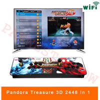 3D Pandora Game 2448 in 1 Arcade Video Game Console 2 Players Arcade Machine with 134 3D Games with WIFI Dowanland More Games