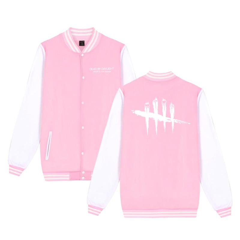 Unisex Fashion Baseball Jacket Dead By Daylight Baseball Uniform  Harajuku Sportswear Boys Girls Lovely Cotton Jackets Clothes 10