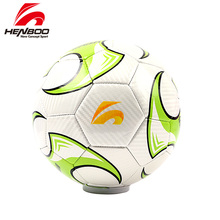 HENBOO Multicolor Soccer Ball Official Size 4 5 Goal League Outdoor Sports Training Balls Football Black