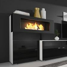 Inno Living 30 Inch  Remote Control Ethanol Fireplace