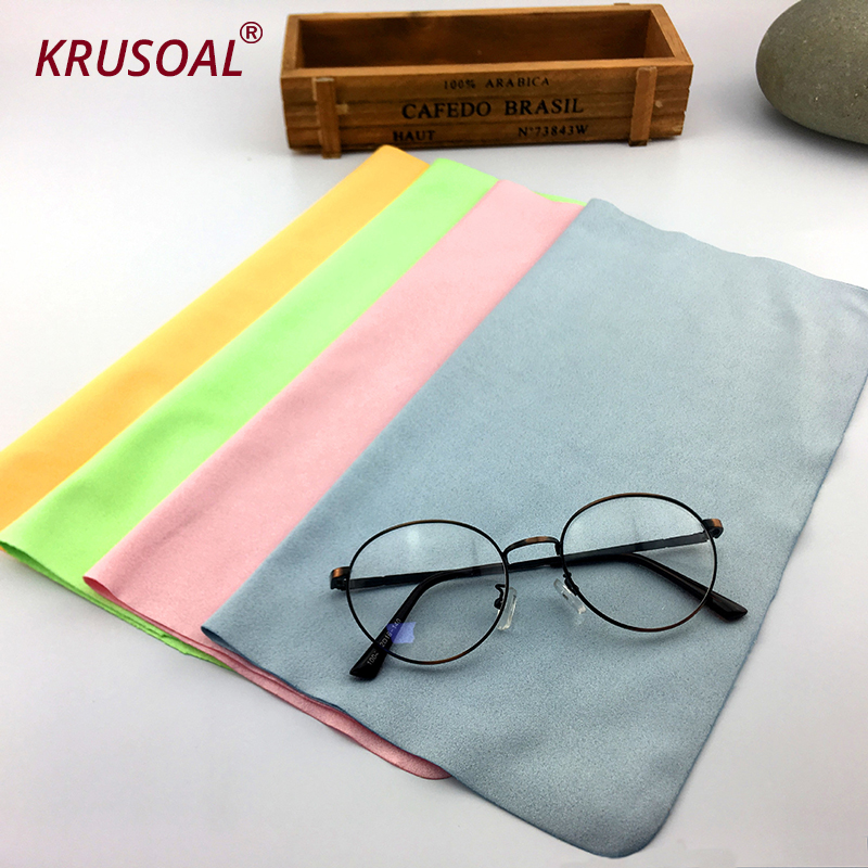 <font><b>10</b></font> pcs/lots Microfiber Glasses Cleaning Cloth Cleaner <font><b>150</b></font>*175mm For Lens Phone Screen Cleaning Wipes kpop accessories image