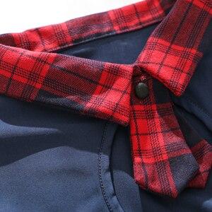 Image 2 - Seksowna dziurka od klucza szkoły dziewczyny bielizna damska mundurek szkolny z przodu krawat spódnica Mini w szkocką kratkę czerwone egzotyczne kostiumy do odgrywania ról