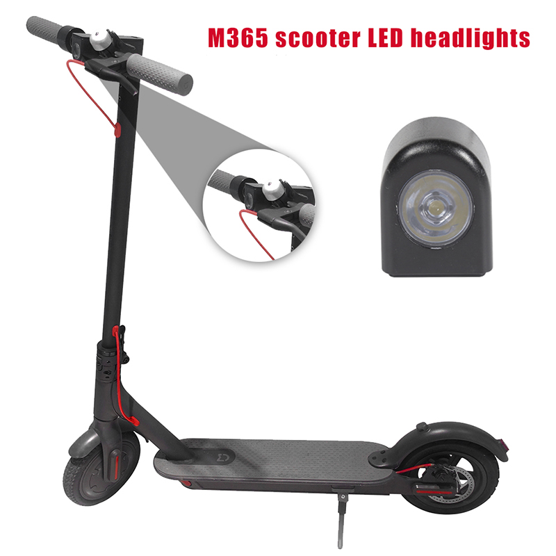 Original Headlight Lamp Led Light Front Lamp Replacement Skateboard For <font><b>Xiaomi</b></font> <font><b>Mijia</b></font> <font><b>M365</b></font> <font><b>PRO</b></font> <font><b>Electric</b></font> <font><b>Scooter</b></font> Parts image