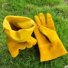 Гусеничные перчатки, кожаные перчатки, пчелиные перчатки, инструменты для пчеловодства, одежда с пчелками, толстые перчатки, непрозрачные антиконские
