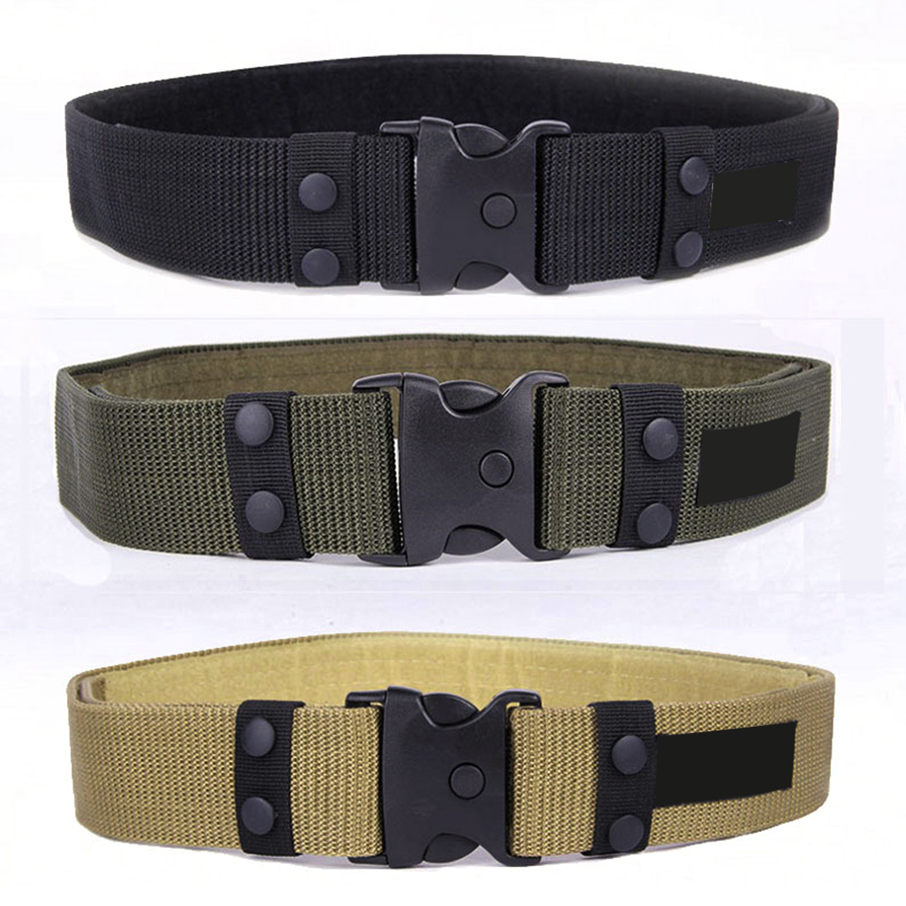 2020 Tactical Belt Men s Waist Belt Military Adjustable Outdoor Camo Nylon Combat Waistband Army cummerbund