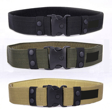 2020 Tactical Belt Men's Waist Belt Military Adjustable Outdoor Camo Nylon Combat Waistband Army cummerbund