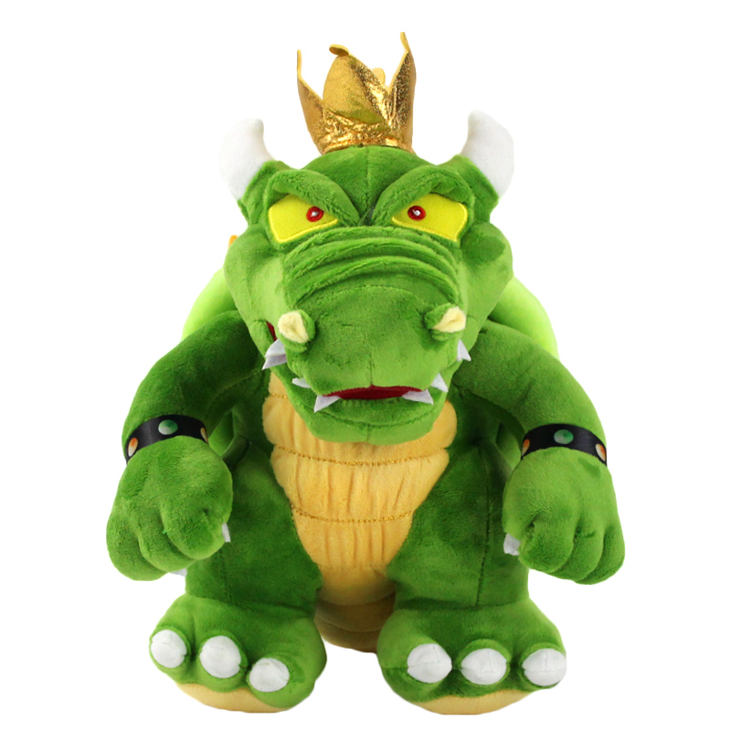 30cm Super Mario Plush Toy King of Koopa Bowser Koopalings Soft Stuffed Dolls Gift for Kids(China)