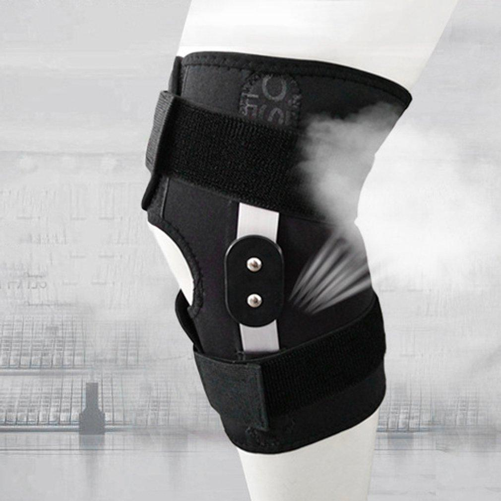 Adjustable Hinged Knee Support Brace Knee Protection Injury Knee Pads Lot RE