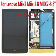 Shyueda 100% Orig 8 Inch IPS Voor lenovo Miix 2/Miix2 8/MIIX2 8 Lcd Touch Screen Digitizer montage
