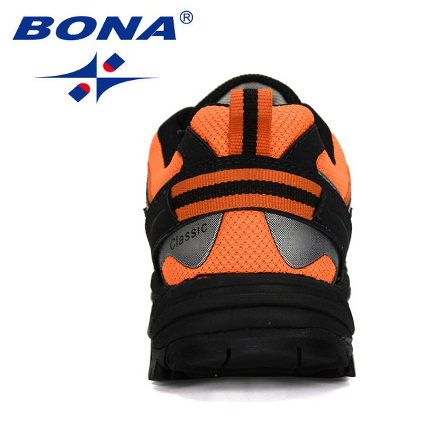BONA 2020 New Designers Popular Sneakers Hiking Shoes Men Outdoor Trekking Shoes Man Tourism Camping Sports Hunting Shoes Trendy 2