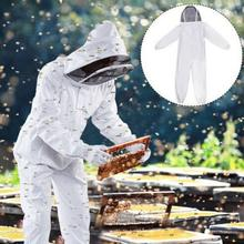 Мед Пчеловодство защитный Профессиональный Пчеловодство защитный всего тела куртка Смок костюм фермы пчела инструменты
